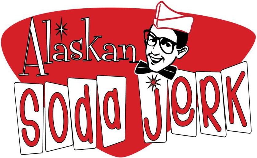 Welcome to Alaskan Soda Jerk Logo