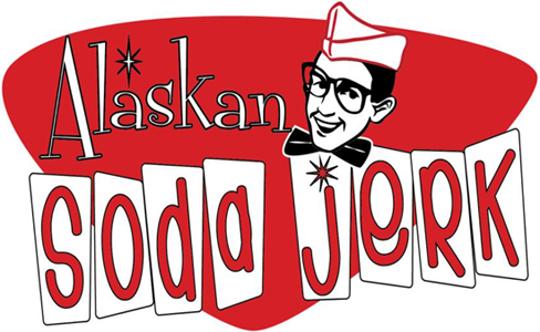 Welcome to Alaskan Soda Jerk Logo